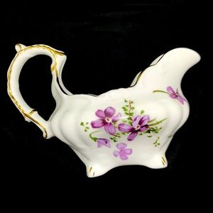 Vintage Kitchen - Vintage Floral Fine Bone China Sugar and Creamer